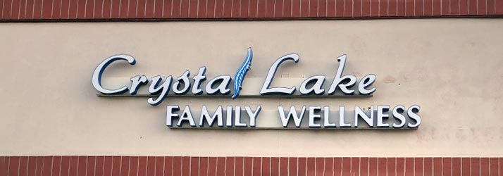 Chiropractic Crystal Lake IL Front Sign
